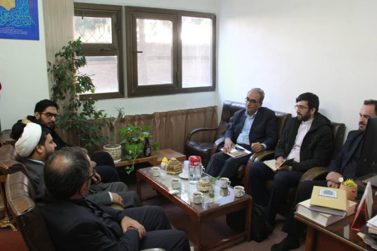 Visits and negotiations were held to establish an agreement with Al-Mostafa International University